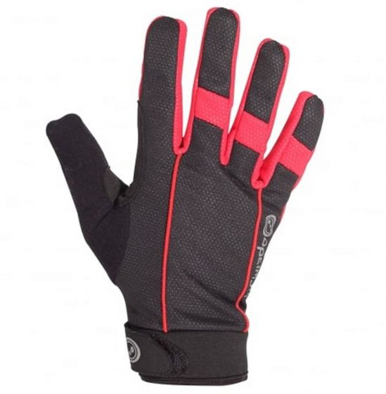 Optimum Orrell Autumn Cycling Gloves (Red/Black)