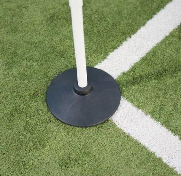 Precision Corner Post Rubber Base