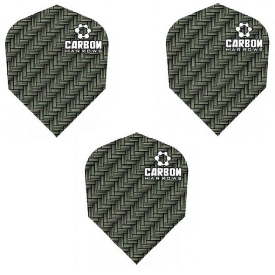 Harrows Grey Carbon Dart Flights