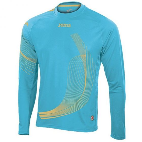 Joma Girls Elite II Long Sleeve Running Top (Turquoise)
