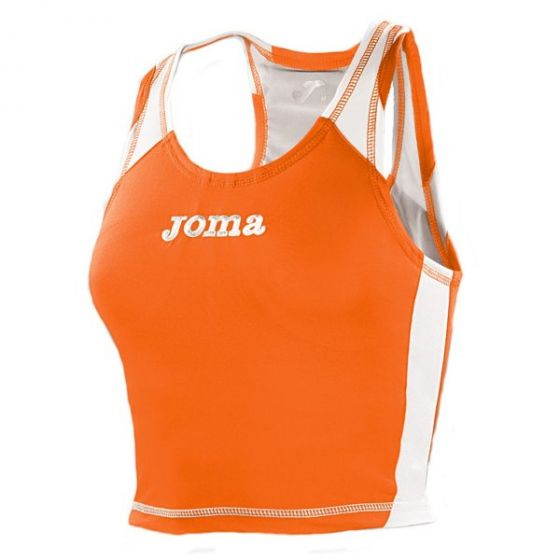 Joma Record Women's Running Vest (Orange)