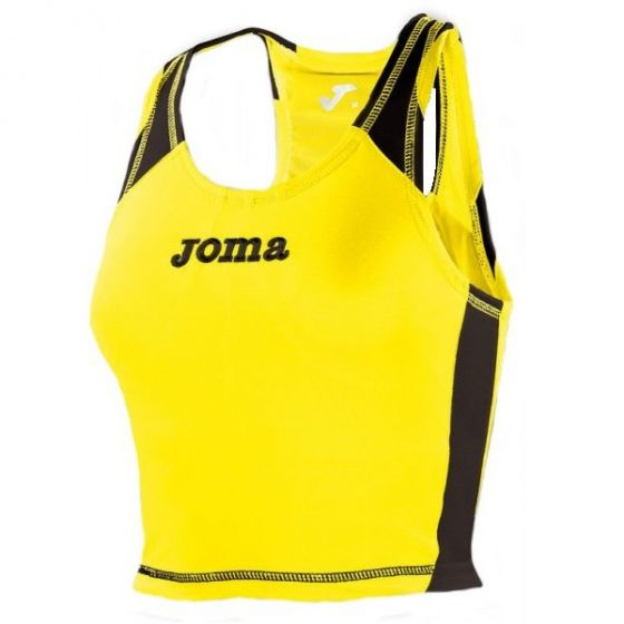 Joma Record Women's Running Vest (Yellow)
