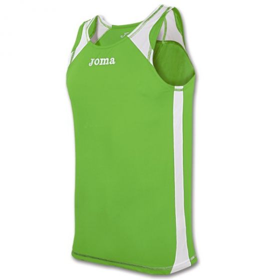 Joma Record Running Vest (Green)
