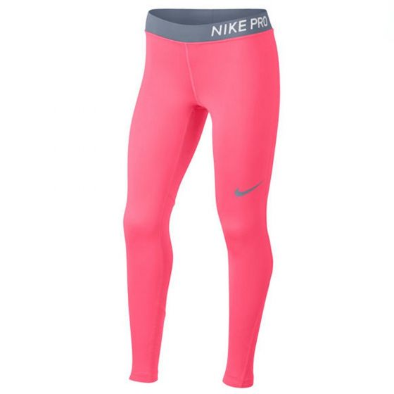 Nike Pro Pink Training Tights (Girls)