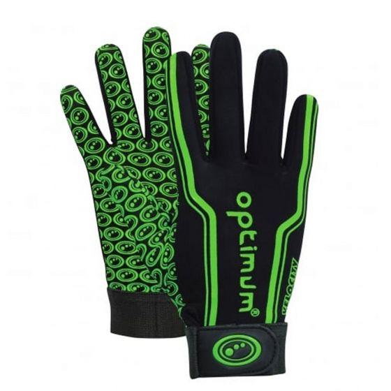 Optimum Kids Velocity Thermal Gloves (Green)