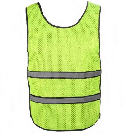 Precision Reflective Running Vest (Yellow)