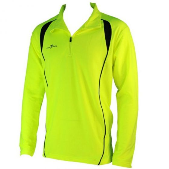 Precision Long Sleeve 1/4 Zip Top (Yellow)