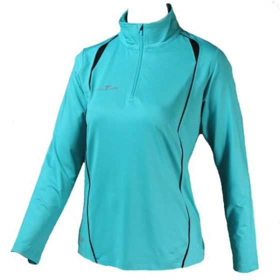 Precision Ladies Long Sleeve 1/4 Zip Top