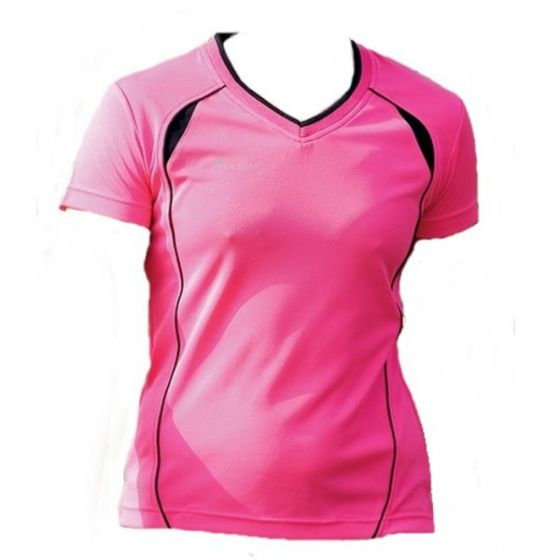 Precision Ladies Running Shirt (Pink)