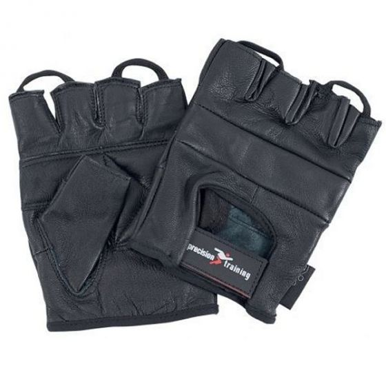 Precision Leather Weightlifting Gloves