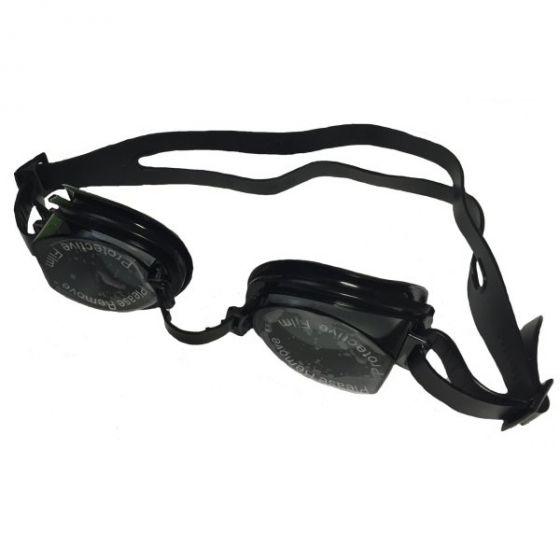Precision Senior Swim Goggles Black