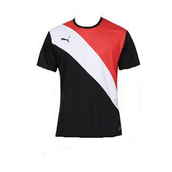 Puma Football Training Graphic Shirt (Red/Black)