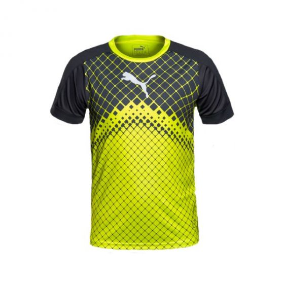 Puma IT Evo Training Junior Graphic Tee (Yellow)
