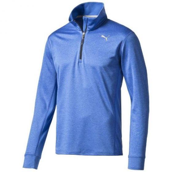 Puma Long Sleeve Running Top (Blue)