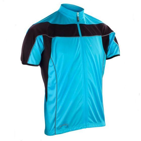 Spiro Bikewear Full Zip Performance Top (Blue)