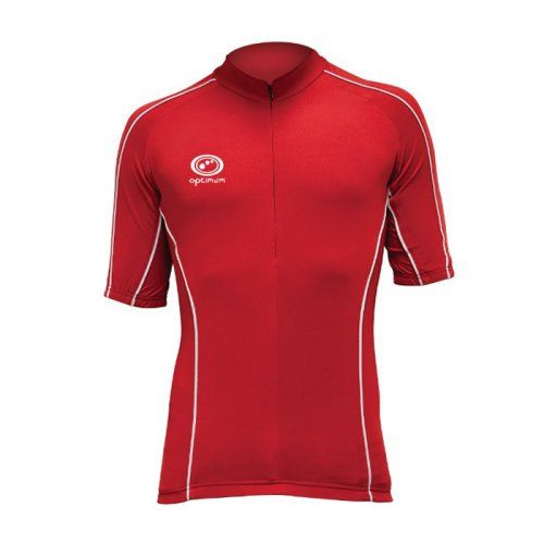 Optimum Hawkley Cycling Jersey (Red)
