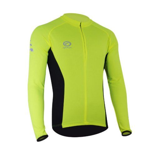Optimum Nitebrite Long-Sleeve Cycling Jersey