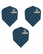 Harrows Blue Carbon Dart Flights