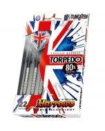 Harrows Torpedo 80% Tungsten Darts Pack