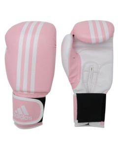 Adidas Response Boxing Gloves (Pink/White)