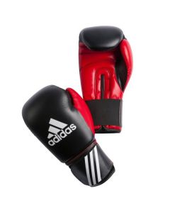 Adidas Response Boxing Gloves (Black/Red)