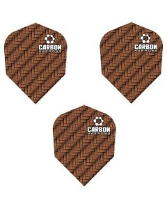 Harrows Bronze Carbon Dart Flights