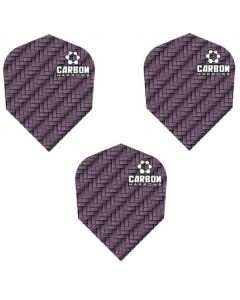 Harrows Purple Carbon Dart Flights