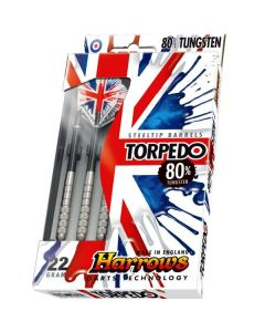 Harrows Torpedo 80% Tungsten Darts Pack