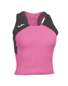 Joma Women's Record II Running Vest (Pink)