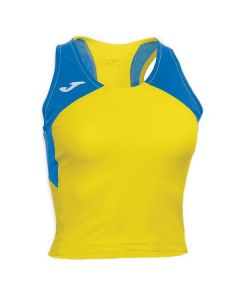 Joma Women's Record II Running Vest (Yellow)