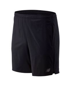 New Balance Men's Black Accelerate 7inch Shorts