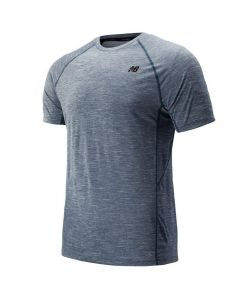 New Balance Men's Grey Tenacity Shirt