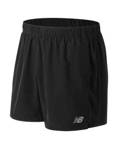 New Balance Men's Black Accelerate 5 Inch Shorts