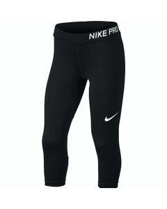 Nike Pro Black Training Capri Leggings (Girls)