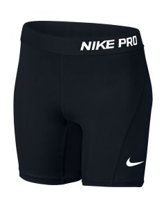 Nike Pro Older Girls Shorts (Black)