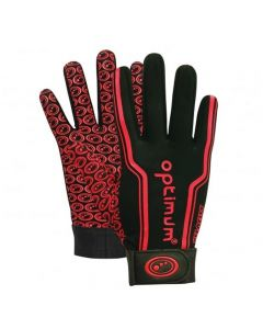 Optimum Kids Velocity Thermal Gloves (Red)