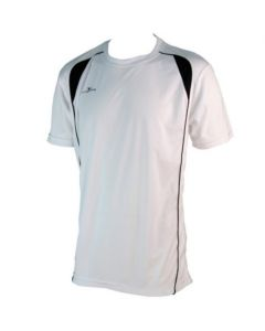 Precision Short-Sleeve Running Shirt (White)
