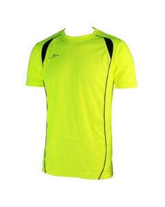 Precision Short-Sleeve Running Shirt (Yellow)