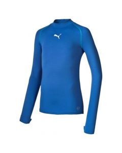 Puma Kid's Football Long Sleeve Bodywear (Blue)