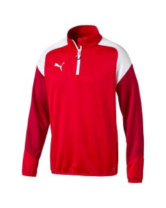 Puma Esito Football Training ¼ Zip Top (Red)
