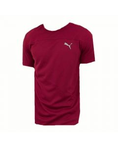 Puma Men's Running Mono T-shirt (Pomegranate)