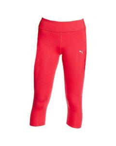 Puma Women's Essential 3/4 Running Tights (Pink)