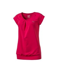 Puma Women's Mesh It Up Tee (Pink)