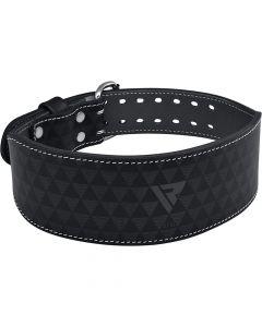 "RDX 4"" Arlo Black Weightlifting Belt"