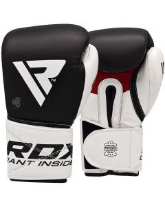 RDX S5 Leather Boxing Sparring Gloves (Junior)