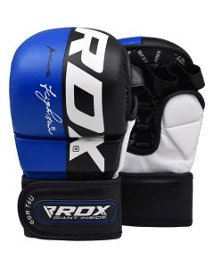 RDX T6 Blue MMA Sparring Gloves (Adults)