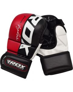 RDX T6 Red MMA Sparring Gloves (Adults)