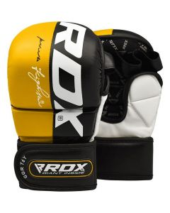 RDX T6 Yellow MMA Sparring Gloves (Junior)