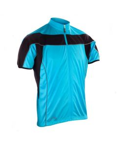 Spiro Bikewear Full Zip Performance Top (Blue)