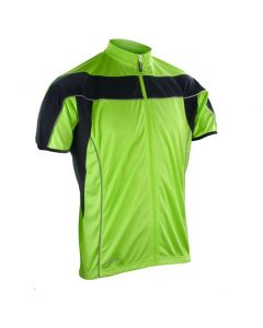 Spiro Bikewear Full Zip Performance Top (Green)